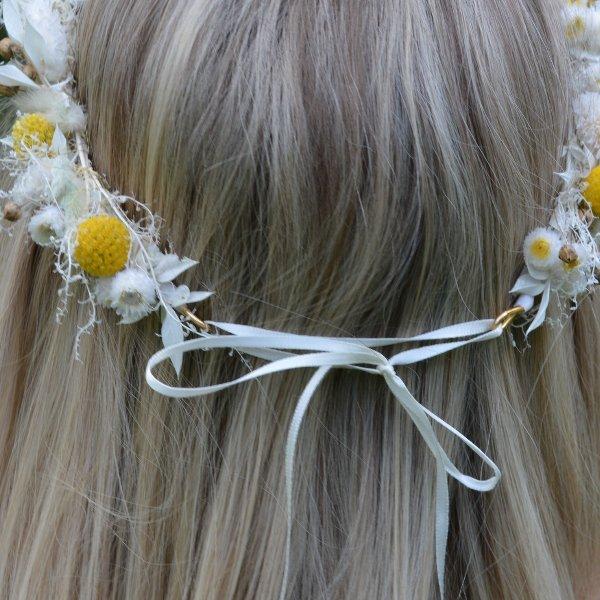 Haarkranz Set zum selbst binden Bild 6