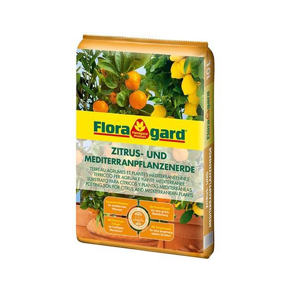 Floragard Zitrus- und Mediterranpflanzenerde Bild 1
