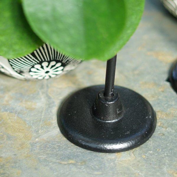 Kerzenleuchter Steel und Übertöpfe Flora Bild 3