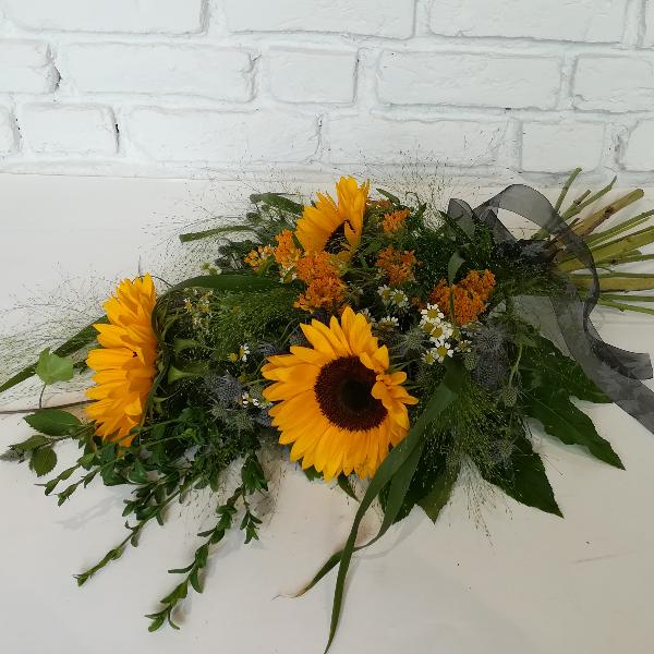 Trau 4   Trauerstrauß aus Sonnenblumen Bild 1