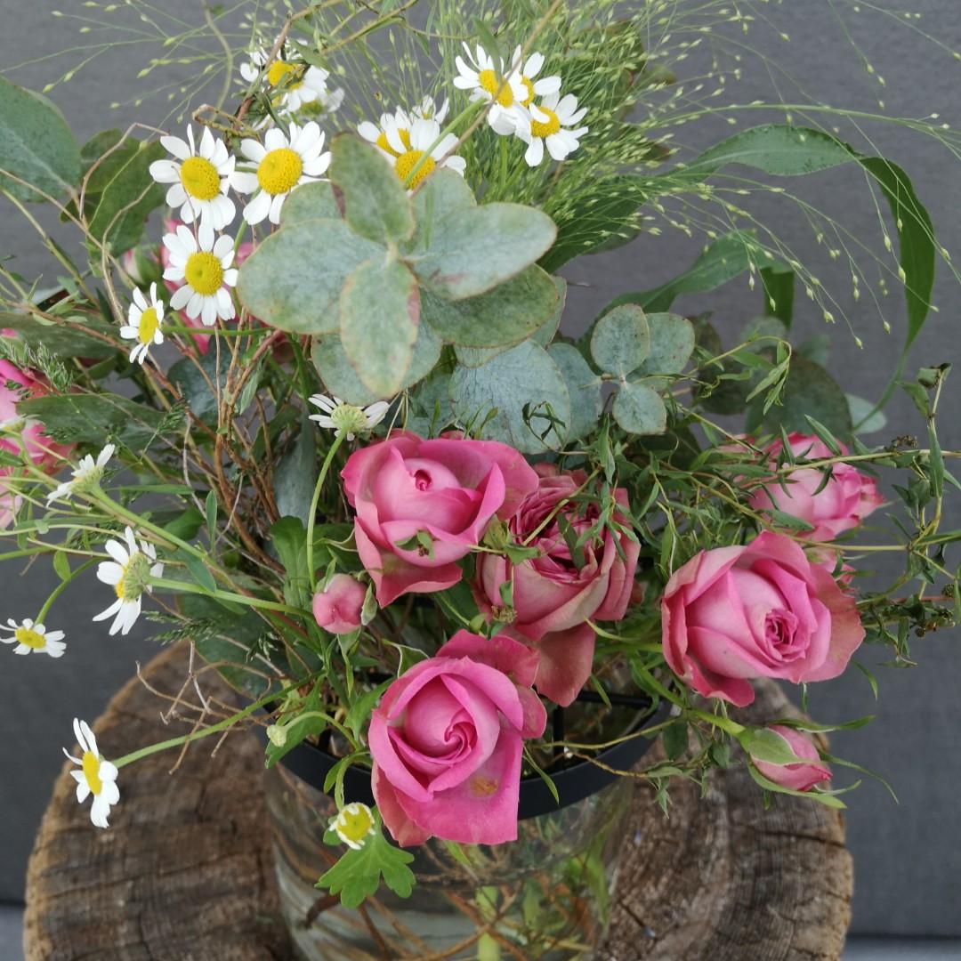 Vase mit Gitterdeckel - Groß Bild 3