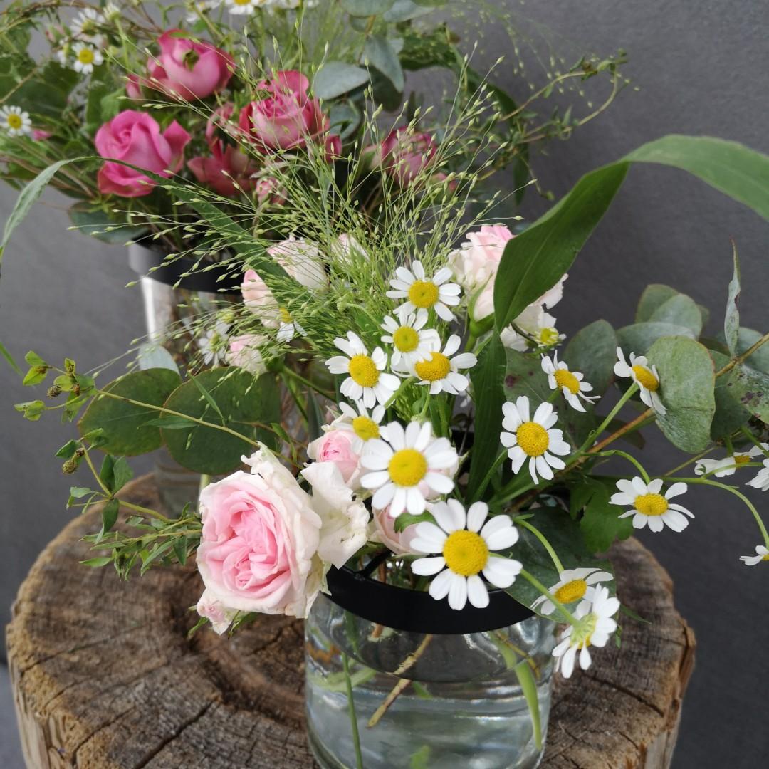 Vasen mit Gitterdeckel - Komplett Bild 2