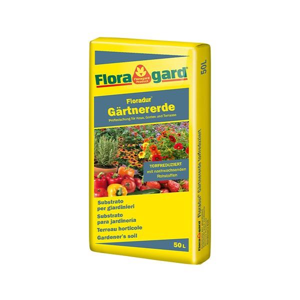 Floragard Floradur® Gärtnererde torfreduziert Bild 1