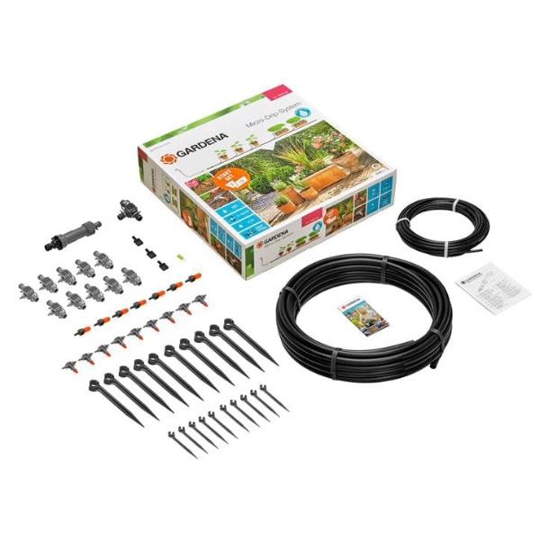 Gardena Micro-Drip-System Start Set Pflanztöpfe M Bild 2