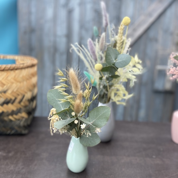 #55 Strauß mit Vase Pastellvase Bild 2