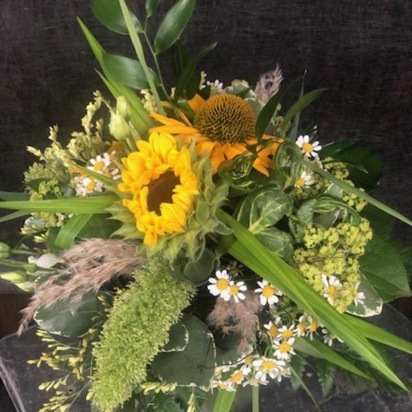 Sonnenblumen-Strauß Bild 1