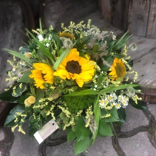 Sonnenblumen-Strauß Bild 2