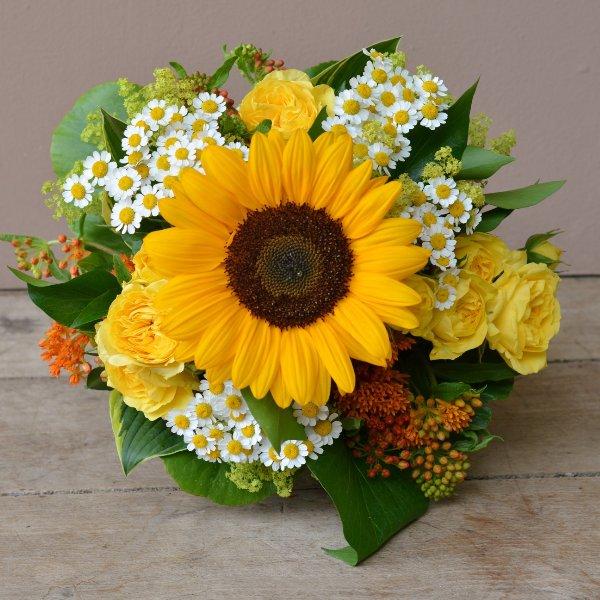Sonnenblumenstrauß Bild 1
