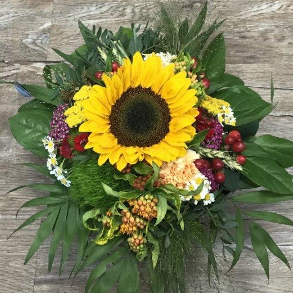 Strauß Sonnenblumen Bild 1