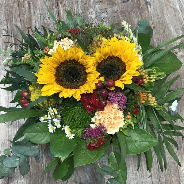 Strauß Sonnenblumen Bild 3