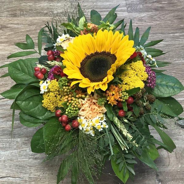 Strauß Sonnenblumen Bild 2