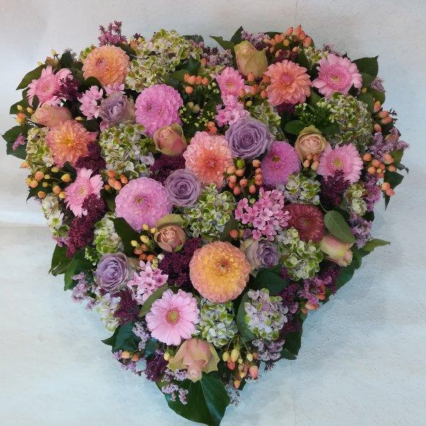 H22 rosafarbenes Herz Bild 2
