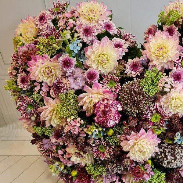 """Herz """"Blütentraum"""" Bild 2"""