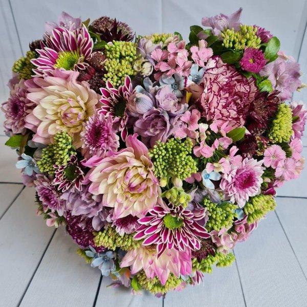 """Herz """"kleiner Blütentraum"""" Bild 1"""