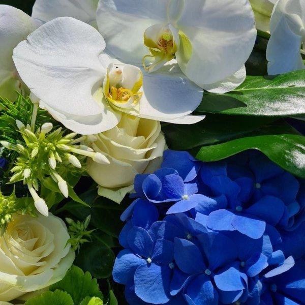 """Sargauflage """"Blumenliebhaber"""" Bild 2"""
