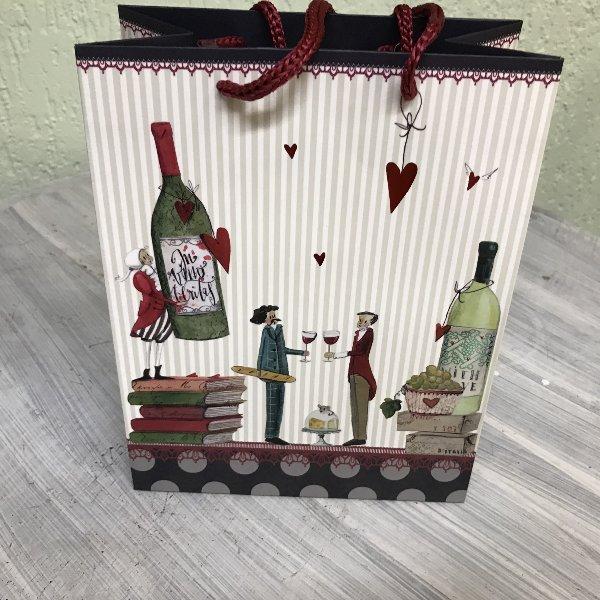 Geschenktasche Wein Bild 1