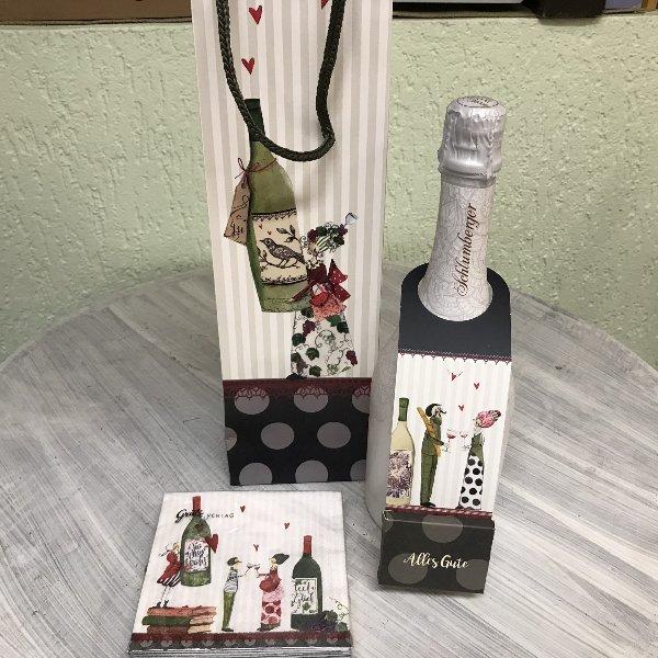 Geschenktasche Wein Bild 2