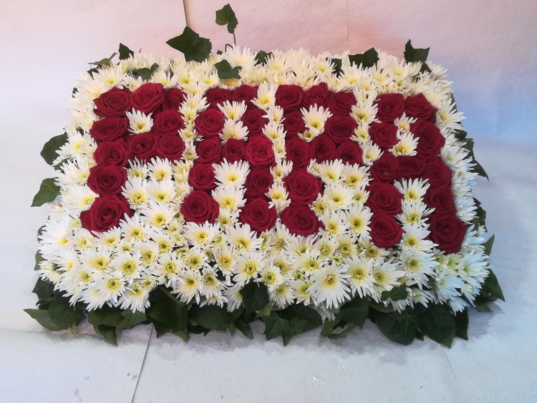 DB17 Blumenplatte Papa Bild 1