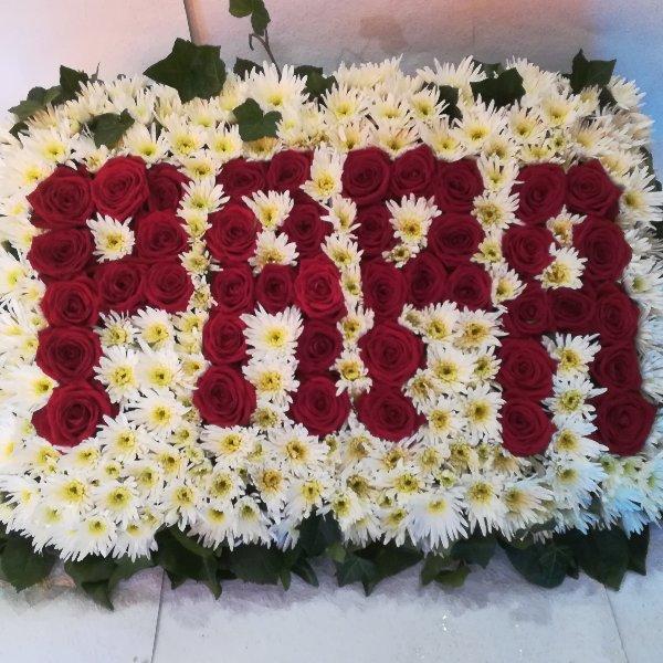 DB17 Blumenplatte Papa Bild 2
