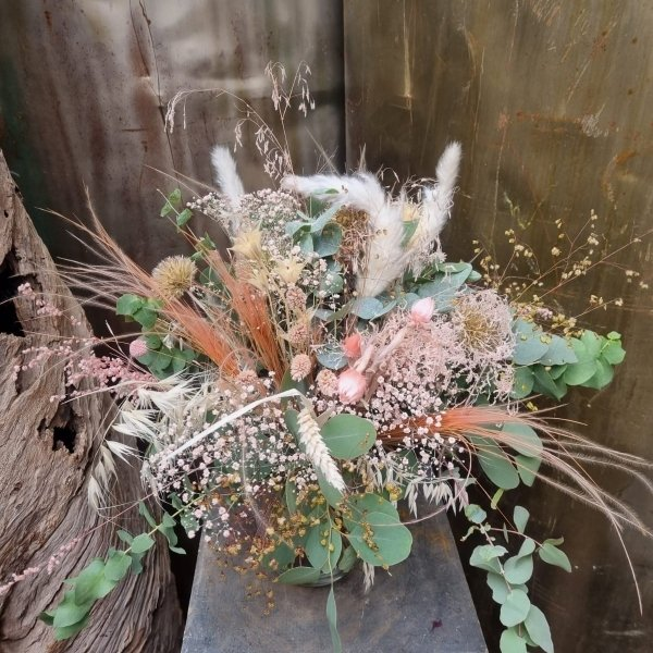 Natürlicher Trockenblumenstrauß Bild 2