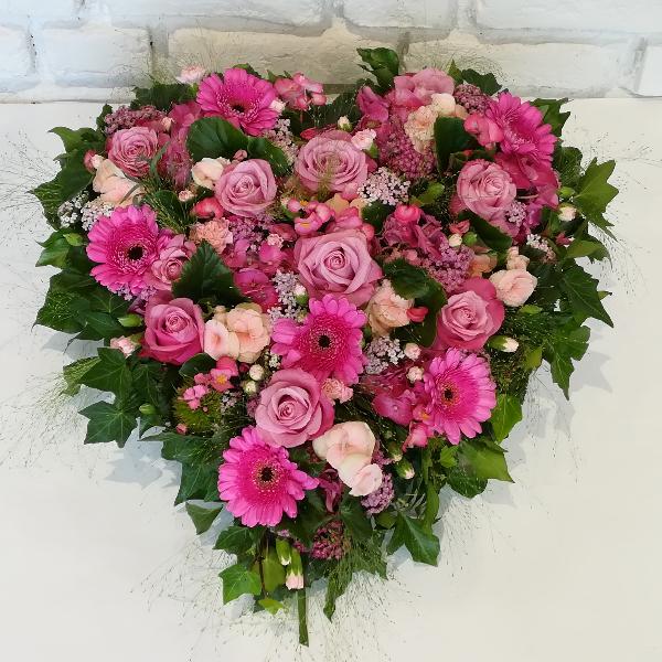 DB 6         Romantisches Herz in pink-rosa Bild 1