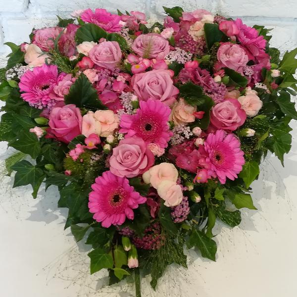 DB 6         Romantisches Herz in pink-rosa Bild 2