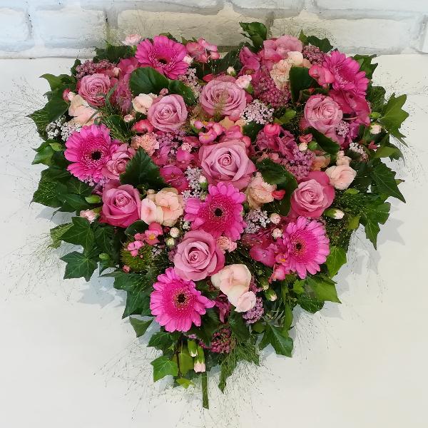 DB 6         Romantisches Herz in pink-rosa Bild 3