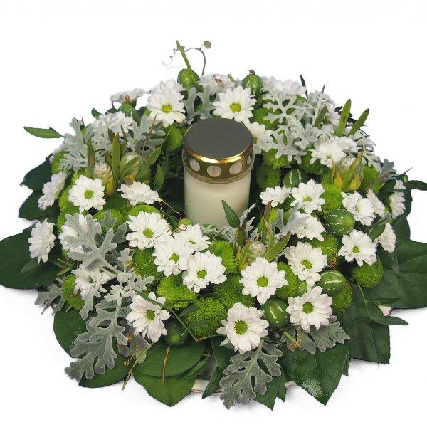 Gedenkkranz für Grabstätte Bild 1