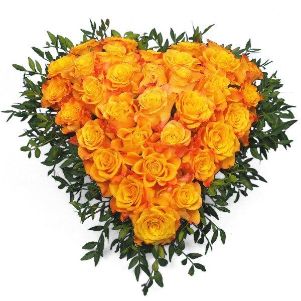 Herzform mit Rosen II Bild 1