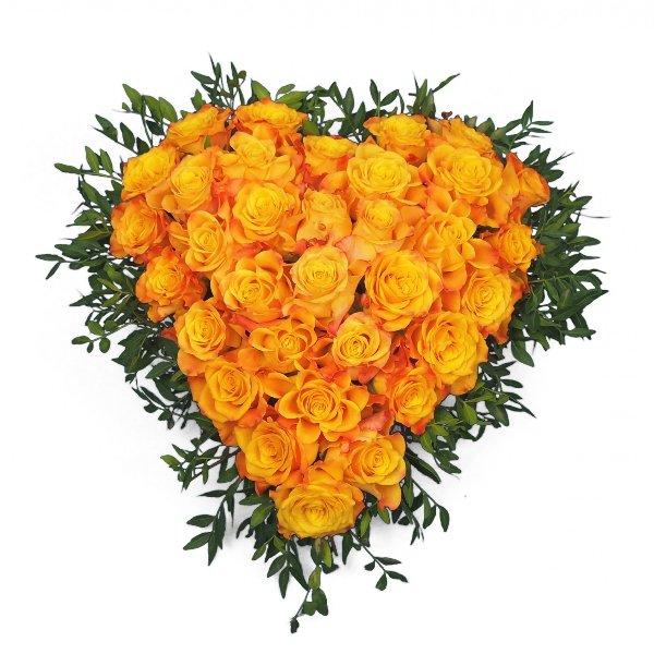 Herzform mit Rosen II Bild 2