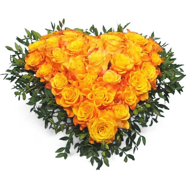 Herzform mit Rosen II Bild 3