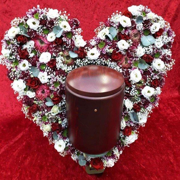 Urne mit Herz Bild 1