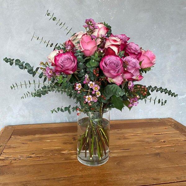 Rosenglück in Pink Bild 1