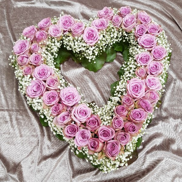 Offenes Herz rosa Bild 1