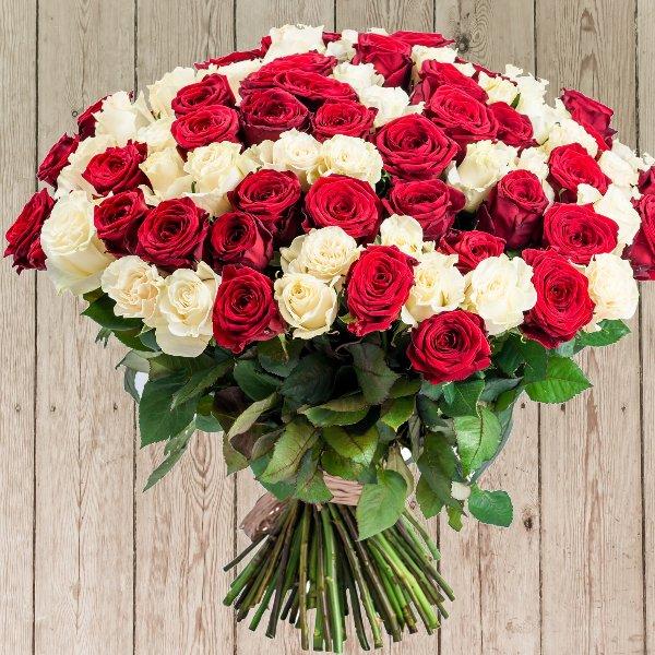 Strauß Rosen zum Jahrestag, Geburtstag Bild 2