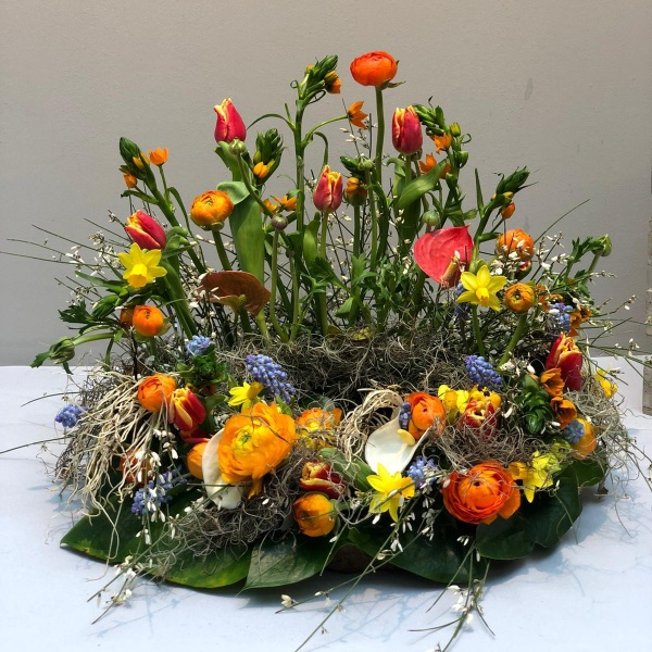 Urnenschmuck - Frühling Bild 1