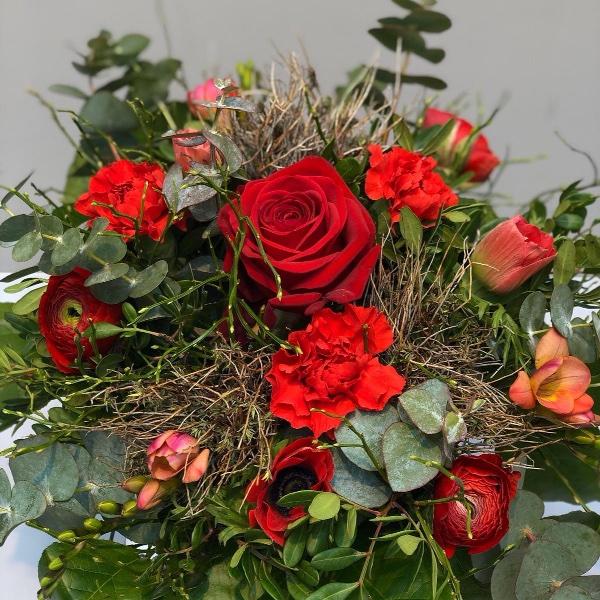 Blumenstrauß - rot Bild 2