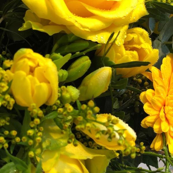 Blumenstrauß - gelb Bild 1