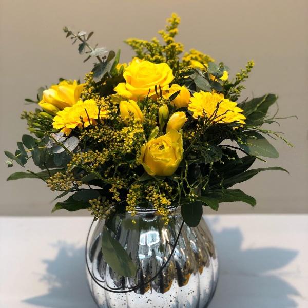 Blumenstrauß - gelb Bild 2