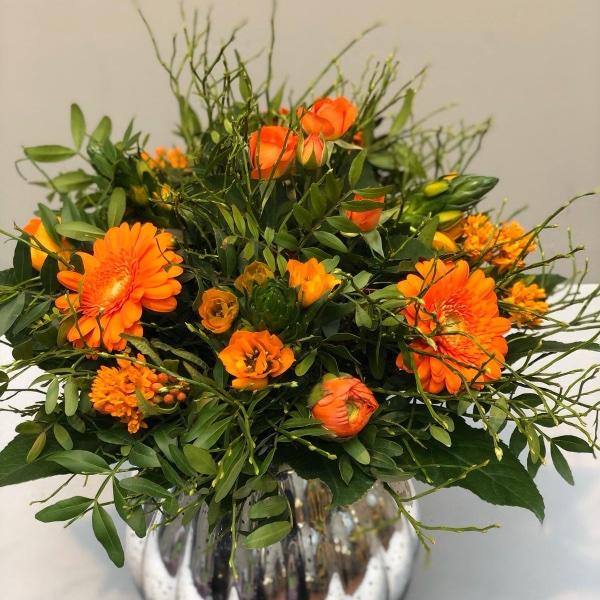 Blumenstrauß - orange Bild 1