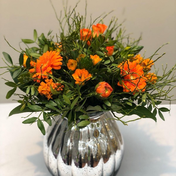 Blumenstrauß - orange Bild 4