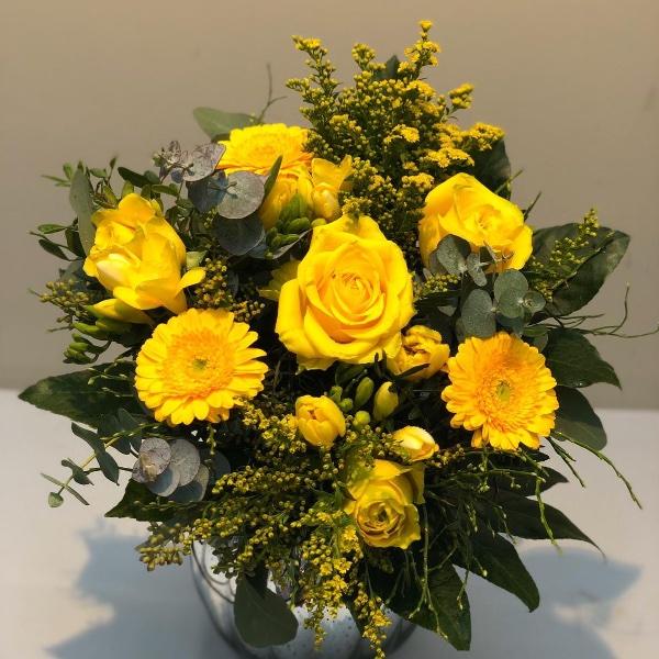 Blumenstrauß - gelb Bild 3