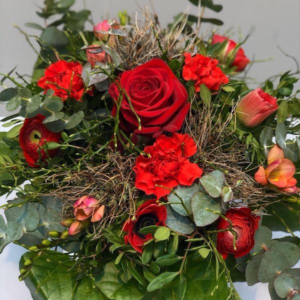 Blumenstrauß - rot Bild 1
