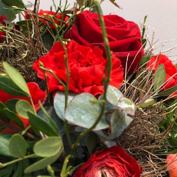 Blumenstrauß - rot Bild 3