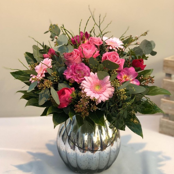 Blumenstrauß - rosa Bild 2
