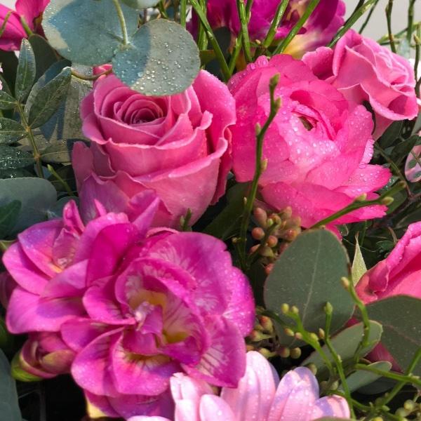 Blumenstrauß - rosa Bild 3