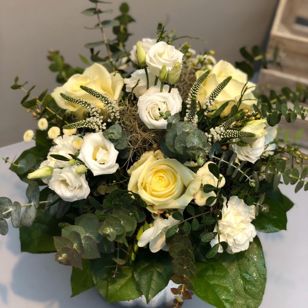 Blumenstrauß - weiß Bild 1