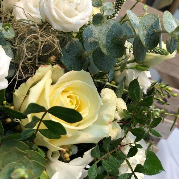 Blumenstrauß - weiß Bild 2