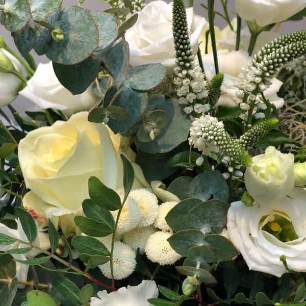 Blumenstrauß - weiß Bild 3