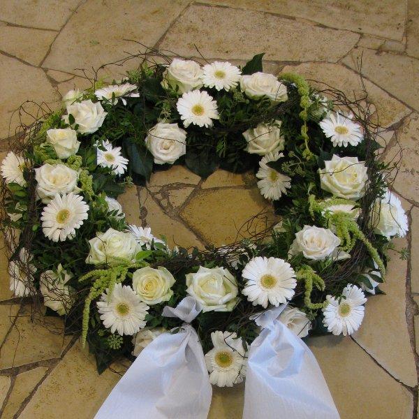 Blütenkranz, weiß Bild 1